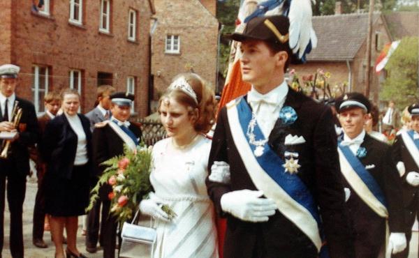 Königspaar Paul-Josef Ernst & Agnes Schäfers