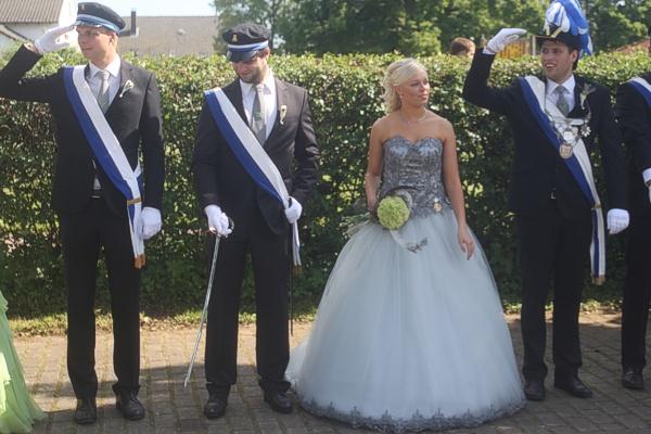 Königspaar Jan-Hendrik Peine & Gina Sophie Stock