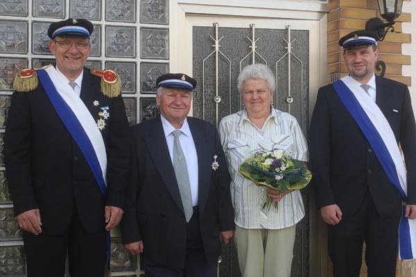 Silberkönigspaar Johannes & Rosemarie Wieners