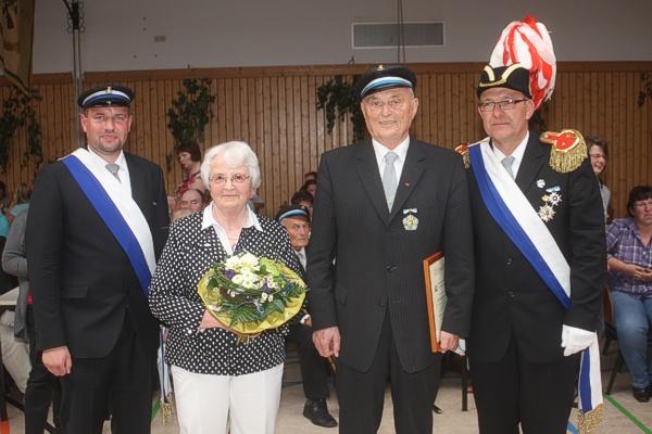 Königspaar vor 40 Jahren: Meinolf & Thea Michels