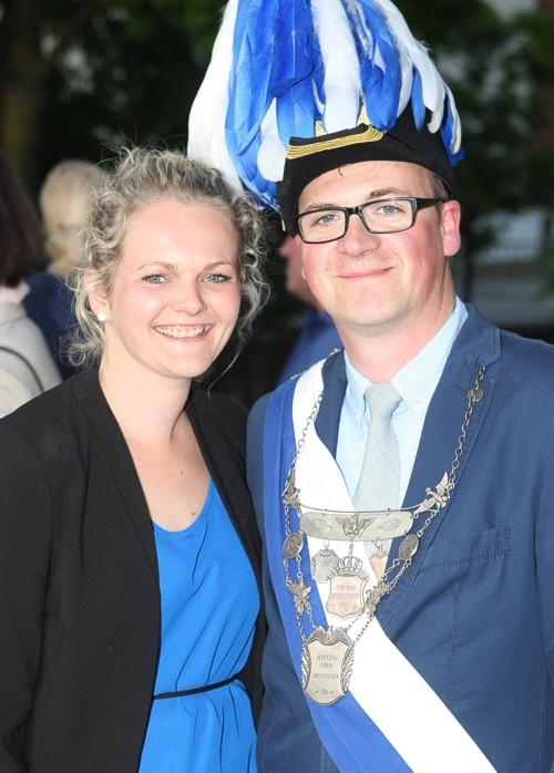 amtierendes Königspaar Stephan Gehrendes & Julia Engemann