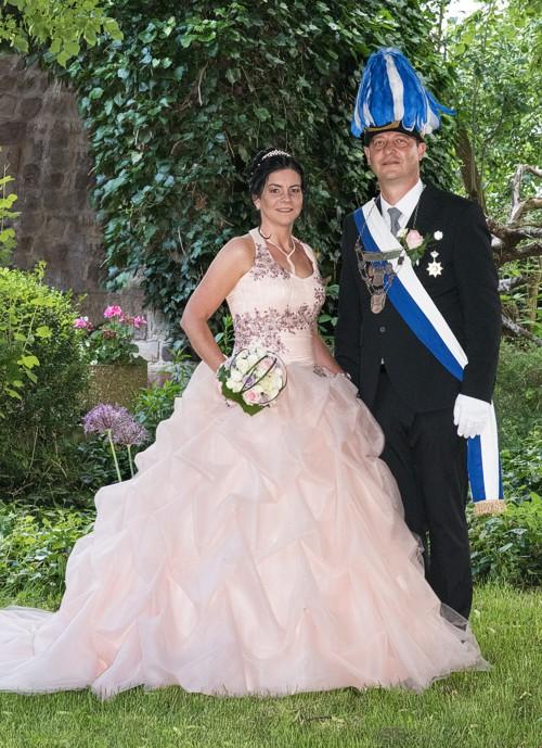 amtierendes Königspaar Andreas & Nadine Flügel